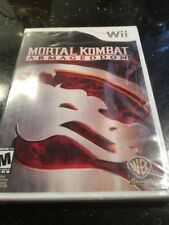 Mortal Kombat: Armageddon WII New Nintendo Wii Brand New Factory Sealed