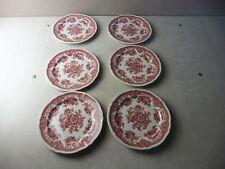 Lot de 6 assiettes à dessert, décor Fasan, en céramique de Villeroy & Boch