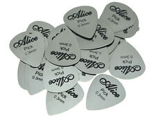 30pcs Alice Guitar Picks Stainless Steel Metal Plectrum 0.3mm