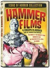 Icons of Horror Hammer 4 film DVD set - Peter Cushing Christopher Lee R1 NEW