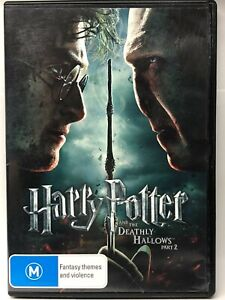 Harry Potter and the Deathly Hallows Part Two - 2 DVD - AusPost with Tracking