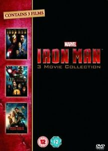 Iron Man 1-3 Complete Collection [DVD][Region 2]