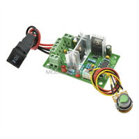 6-30V DC Motor Speed Controller Reversible PWM Control Forward Reverse Switch M