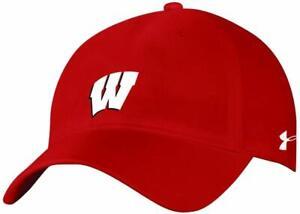 Under Armour NCAA Wisconsin Badgers Football Snapback Unisex Adult Hat Cap NWT