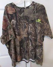 Mossy Oak Camouflage Mens T-Shirt Tee Camo 3XL (54-56) EUC