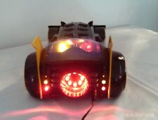 TOTAL DESTRUCTION CUSTOM LED BATMAN BATMOBILE WORKING LIGHTS ADAM WEST- ELECTRIC