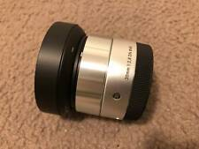 Sigma 30mm F2.8 DN Art 013 for Sony E-mount