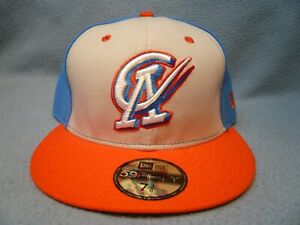 New Era 59fifty Oklahoma City Dodgers OKC Copa BRAND NEW Fitted cap hat Cielo