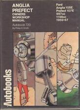 FORD PREFECT 107E,ANGLIA 105E,1000,1200,SUPER,DE LUXE,WORKSHOP MANUAL 1959-1967
