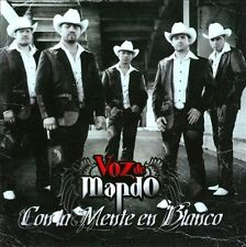 Con La Mente en Blanco by Voz de Mando (CD, Oct-2010, Disa)
