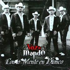 Con La Mente en Blanco by Voz de Mando (CD, Oct-2010, Disa)