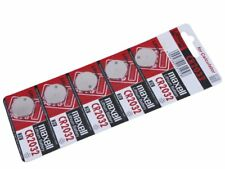 MAXELL CR2032 Lithium Coin Cell Battery - 5 Piece Pad - BNew - Authentic