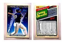 Domingo Martinez Signed 1993 Topps #810 Card Toronto Blue Jays Auto Autograph