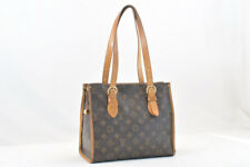 LOUIS VUITTON Monogram Popincourt Haut Tote Bag M40007 Auth 1338
