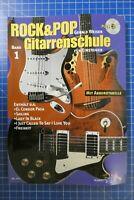 Gerald Weiser Rock&Pop Gitarrenschule Band 1 SCHOTT mit CD H-285
