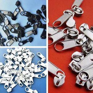 50 Piece 3# Nylon Zipper Replacement Instant Zipper Slider Repair Rescue Kits