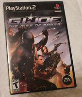 ****G.I.Joe The Rise of the Cobra**** -GI Joe-Playstation 2 PS2*(FREE SHIPPING*)