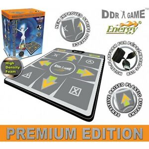 """PS2 USB Energy HD 1"""" Foam Deluxe Dance Pad 4 in 1 for PS/PS2, Xbox and PC"""