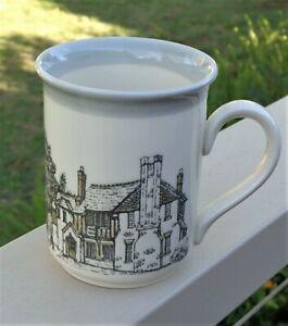 Vintage Biltons England Stoneware Coffee Tea Mug *Cottage Inns *Black Horse
