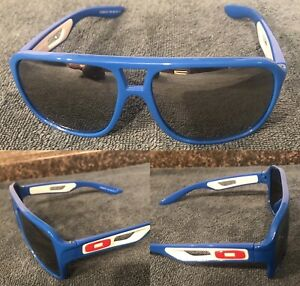 Oakley Dispatch II 2 Blue with Semi Reflective Lens - Great Condition USA MADE
