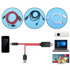 UNIVERSALE MHL MICRO USB A CAVO HDMI 1080P HD TV Cavo adattatore per Android