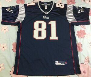 New England Patriots Randy Moss #81 Football-NFL Reebok Jersey Size52