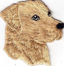 DOGS YELLOW LABRADOR RETREIVER Iron On Patch Pets