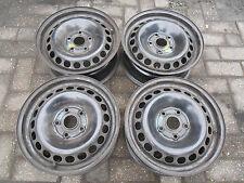 4 Stahlfelgen 6Jx15H2 ET45 VW Passat 3B Audi A4,A6,100 C4