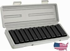 """11 PC 1/2"""" DR DEEP IMPACT SOCKET SET METRIC 1/2in DRIVE IMPACT WRENCH SOCKETS"""