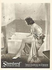 Y2430 Apparecchi Sanitari STANDARD - Pubblicità del 1942 - Old advertising