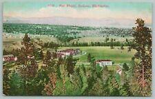 Spokane Washington~Aerial View Of Fort Wright~Vintage Postcard