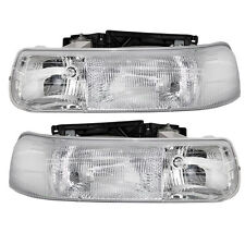 Monaco Camelot 2003 2004 Pair Headlights Head Lights Front Lamps Rv Set New