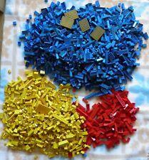 Lego lot vrac briques rouge jaune bleu environ  5 kg