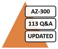 AZ-300; 2019 Microsoft Azure 300, 113 Q&A, PDF+ SIMULATOR!!!