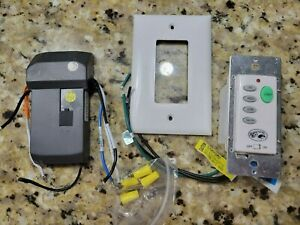 Hampton Bay Ceiling Fan Wall Switch Wired Remote 9050H Open box