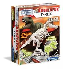 Clementoni 61243 archeofun T-Rex Cincel brillan en la oscuridad Niños Nuevo Kit De Ciencia