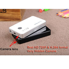 720p Power Bank Camera Spy Motion Detection DVR 3000MAH Hidden Camcorder Video