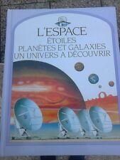 livre enfant : L'espace, etoiles, planetes, galaxies