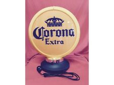 NEW Petrol Bowser Globe and Base Corona illuminated sign