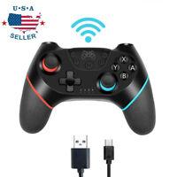 Wireless Pro Controller Gamepad Joypad Joystick Remote Fit For Nintendo Switch
