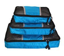 Clothings packing Cube light Travel Luggage Organiser Storage Bag Case Set 3 set