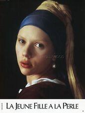 SCARLETT JOHANSSON GIRL WITH A PEARL EARING 2003 VINTAGE LOBBY CARD #2