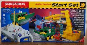 New Open Box 1999 Rokenbok #34120 Action Factory Start Set STEM Construction Set