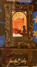 2013 WDW Railroad Disney Poster Collection Pin LE 2000 w/Easel NEW