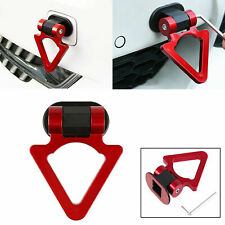 Red Triangle Track Racing Front Rear Tow Hook Stick Decoration Universal for Car