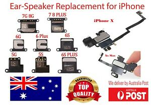 Ear Speaker Replacement for iPhone 5 6 6s 7 8 Plus X Xr Xs Max Proximity Sensor