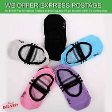 Yoga Socks Grip Non Slip Pilates Massage Ballet Exercise Gym Sock New AU