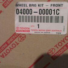 Genuine Toyota Front Wheel Bearing Kit Land Cruiser / Hilux  04000-00001C