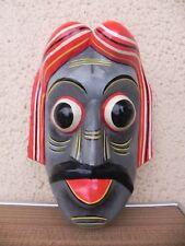 Masque balinais, masque barong vintage, inde, indonesie theatre bali