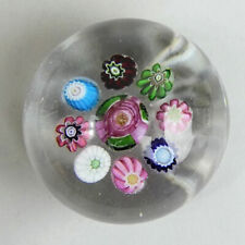 ANTIQUE CLICHY FRENCH GLASS MILLEFIORI PAPERWEIGHT C.1850